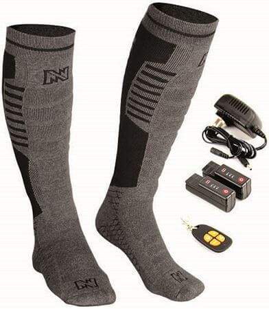 heated socks with remote
